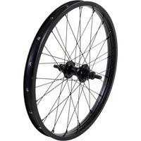 mafiabikes Madmain BMX Felgen 20 Zoll Doublewall schwarz Aluminium Laufräder vorne, hinten oder als Set, Ausführung:vorne