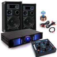 2400W Party Musikanlage mit MP3 USB Mixer DJ-Party 7