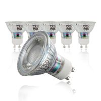 LED Lampe GU10 LED Birne 5 Watt Glühbirne 400 Lumen Leuchtmittel Warmweiss 3000K 5er/10er SET B.K.Licht