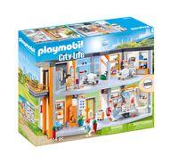 PLAYMOBIL City Action 70190 Großes Krankenhaus mit Einrichtung