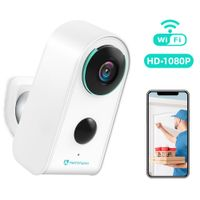 HeimVision HMD3 Überwachungskamera, kabellose Kamera 1080P mit Akku 6000mAh WLAN IP Kamera für Aussen Ihnen, WiFi Sicherheitskameras