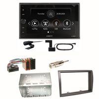 Xzent X-227 Carplay Bluetooth DAB+ Einbauset für Fiat Ducato Boxer Jumper