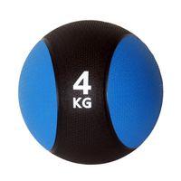 Unibest Medizinball Gymnastikball Gewicht 4kg blau