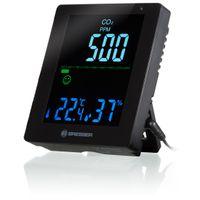 BRESSER CO2-Luftqualitätsmonitor Smile mit CO2-Ampel Farbe: schwarz