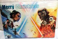 Adventskalender  Merry Christmas  mit Star Wars Utensilien gefüllt , 45x32x4cm