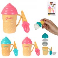 GKA Eismaker Eis selbstgemacht Eisbecher mit Löffel Eismaschine mit Kühleinsatz Eis selber machen