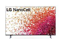 """LG 43NANO753PA 43"""" (109 cm), Smart TV, WebOS, 4K UHD Nanocell, 3840 x 2160, WLAN, DVB-T/T2/C/S/S2, Schwarz"""