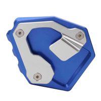 Motorrad Ständer Seitenständer Verlängerungsplatte Pad für Honda CRF1000L Blau wie beschrieben