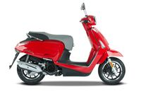 Kymco Like II 125i CBS Euro 4, Farben:Rot