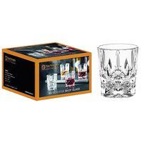 Nachtmann 100694 Noblesse Stamper Kristallglas, 55 ml, H: 6,1 cm, ø 5 cm, klar (4er Pack)