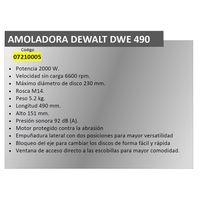DeWALT DWE490 Zweihand Winkelschleifer Trennschleifer 2000W Ø 230 mm