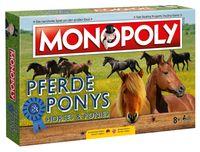 Monopoly Pferde und Ponys Edition Gesellschaftsspiel Brettspiel Spiel