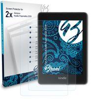 Bruni Basics-Clear 2x Schutzfolie kompatibel mit Amazon Kindle Paperwhite (2018) Folie