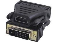 MicroConnect - Videoanschluß - HDMI / DVI - HDMI (W) bis DVI-D (M) - MicroConnect - HDM19F24 - 5705965855782