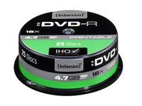 Intenso DVD-R 4.7GB, Printable, 16x, Tortenschachtel
