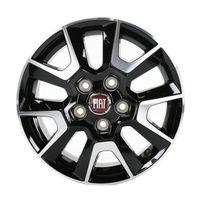"Fiat Alufelge Ducato 250 16"" Zoll Leichtmetallfelge mit Nabendeckel 1374083080"