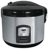 Adler Reiskocher | 1,5 Liter | Multikocher | Dampfgarer | Dampfgargerät | Edelstahl Schnellkochtopf | Reis Kochtopf | Warmhaltefunktion | Automatische Abschaltfunktion |