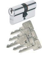Abus C73 C73N Doppelzylinder (a/b) 30/30mm mit 6 Schlüssel, mit Not- und Gefahrenfunktion