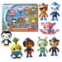XXL Figuren-Set | Mattel Y9297 | 8 Figuren | Octo Crew Pack | Die Oktonauten