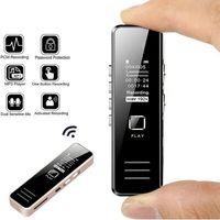 Digitales Diktiergerät,USB Sound Recorder 32GB Aufladbare Digitalen Audio Sound Recorder Diktiergerät MP3 Player DSP Noise Reduktion HD Fern Aufnahme