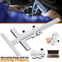 DIN862 Stahlmarkierung Messschieber Messschaber Brückenwerkzeug 0-160mm Anreiß Messschieber Streichmaß