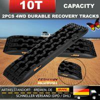 Universal 2X 10T Fahrzeug Recovery Traction Tracks Schneeschiene für Offroad 4x4 Rampen