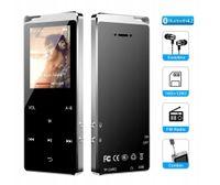 """MP3 Player, Bluetooth 16GB Digital Musik Player 1.8"""" TFT Bildschirm Audio Player mit Kopfhörer, UKW Radio, Schrittzähler"""