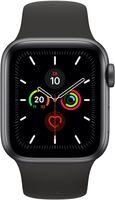 Apple Watch Series 5 GPS+LTE 44mm Space Gray Alu Schwarzes Sportarmband