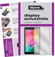 2x Samsung Galaxy Tab A 8.0 (2019) Schutzfolie klar Displayschutzfolie Folie