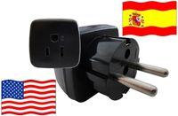 Urlaubsstecker Spanien für Geräte aus USA