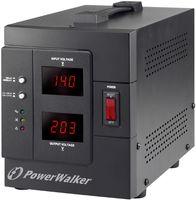Bluewalker AVR 2000/SIV - 230 V - 50/60 Hz - 2000 VA - 1600 W - 2 AC-Ausgänge - Typ F