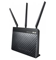 ASUS DSL-AC68U Dualband Wireless-AC1900 WLAN Router mit integriertem DSL Modem