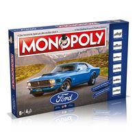 Monopoly Ford Edition Spiel Gesellschaftsspiel Brettspiel Deutsch / Englisch
