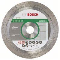 Diamanttrennscheibe Stein Ø 76mm SB 1,9mm für Bosch Winkelschleifer