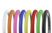 Kenda Krackpot Colour 20 Zoll x 1.95 Zoll BMX Reifen Fahrradreifen Fahrrad Mantel bunt, Farbe:schwarz