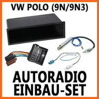 VW Polo 4 ( 9N + 9N3 ) 2001-2008 Universal DIN Autoradio Einbauset