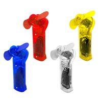 4er Set Mini Handventilator Taschenventilator | Tragbarer Miniventilator Inkl. Umhängeband | Hand Büroventilator Ventilator