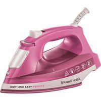 RUSSELL HOBBS Dampfbügeleisen Bügeleisen Rosa Light And Easy Brights Rose 2400 W