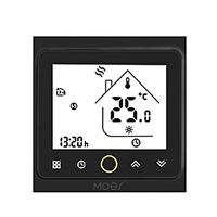 MOES Smart Thermostat Intellight Temperaturregler 5A Wasser Fußbodenheizung für zu Hause Kein Wi-Fi - Schwarz