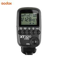 Godox XT32C Wireless Power-Control-Blitzausloeser Sender Built-in 2.4G Wireless X System 1 / 8000s-Kurzzeitsynchronisation fuer Canon-Kameras