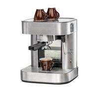 Espresso Maschine EKS 1510 ElPresso classico, 19 Bar Pumpendruck, 1,5 Liter Wassertank, 2-Loch Siebträger, Edelstahl Filtereinsatz für 1 bzw. 2 Tassen