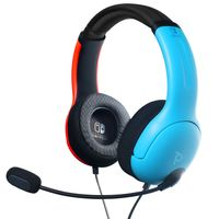 PDP Headset LVL40 Wired für Nintendo Switch, blau-rot