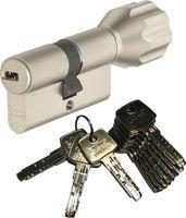 ABUS EC550 Knaufzylinder Länge Z28/K34mm (c=62mm) mit 10 Schlüssel, SKG** Bohrschutz