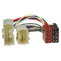 Radio Adapter Kabel passend für Volvo S40 V40 S70 V70 V90 XC70 bis 2000 auf 16pol ISO Norm