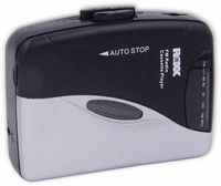 Tragbarer Kassettenabspieler Kassetten Player mit UKW Radio ROXX PCP 300