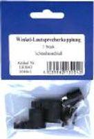 Lautsprecherstecker für Kfz, Winkel schraubbar, 2er-Pack