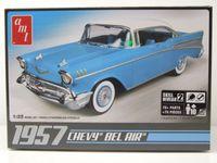 Chevrolet Bel Air 1957 Kunststoffbausatz Modellauto 1:25 AMT