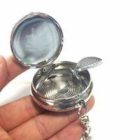 Aschenbecher Taschenascher Taschenaschenbecher Mini CigaretteAshtrayKey Neu L8B1