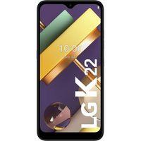 LG K22 Smartphone 32GB Titan 6,2 Zoll Android Handy LTE/4G Dual-Kamera 3000 mAh