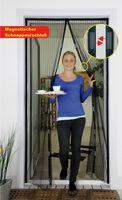 Greentower Magnetvorhang Insektenschutz Terrassentüre 100 x 210 cm ***NEU***
